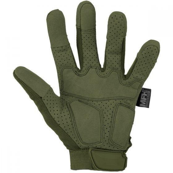 Rękawice Taktyczne MFH Action OD Green