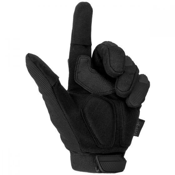 Rękawice Taktyczne MFH Stake Czarne