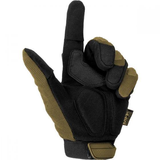 Rękawice Taktyczne MFH Stake Coyote Tan