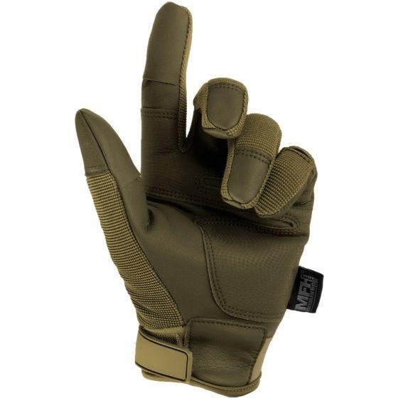 Rękawice Taktyczne MFH Mission Coyote Tan