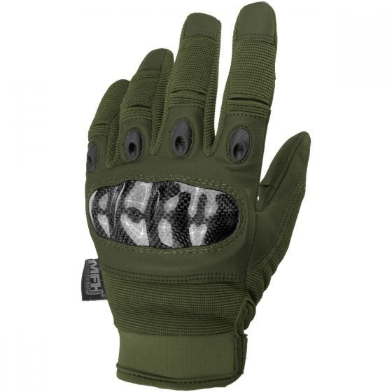 Rękawice Taktyczne MFH Mission OD Green