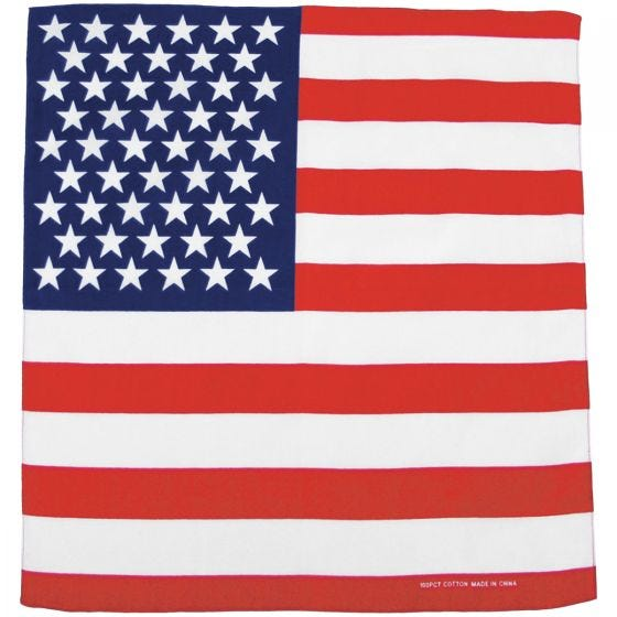 Chusta MFH Bandana US Flag