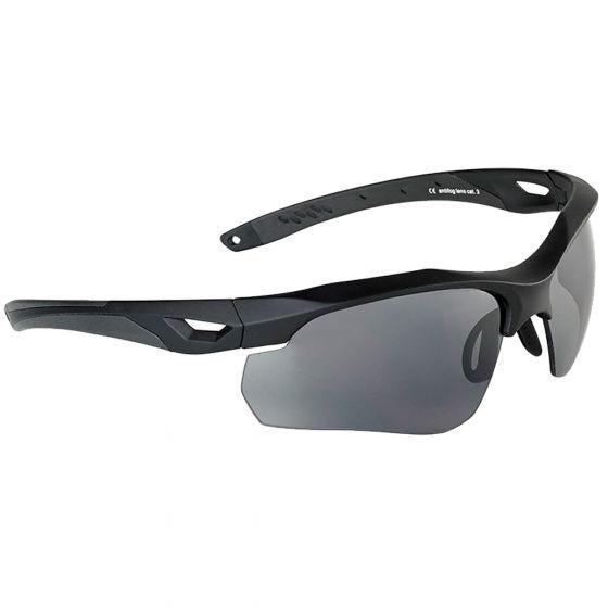 Okulary Taktyczne Swiss Eye Skyray - Zestaw 2 Wymiennych Wizjerów - Czarne