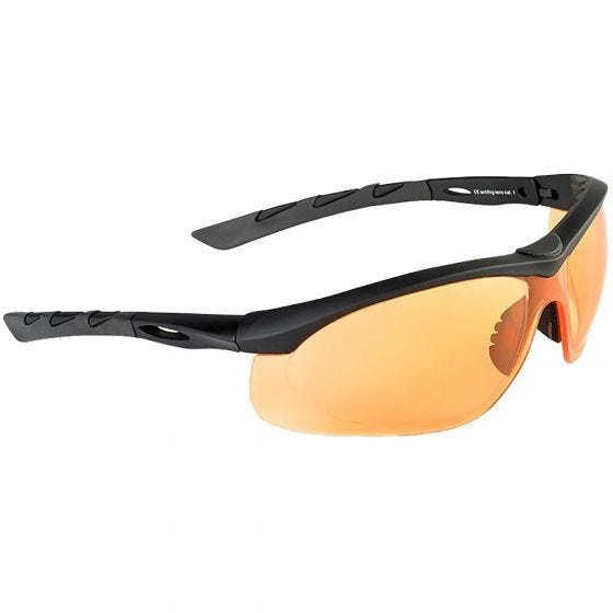 Okulary Taktyczne Swiss Eye Lancer - Orange - Czarne