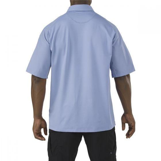 Koszulka Polo 5.11 Rapid Performance Krótki Rękaw Fire Med Blue