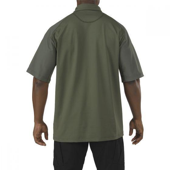 Koszulka Polo 5.11 Rapid Performance Krótki Rękaw TDU Green