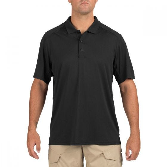 Koszulka Polo 5.11 Helios Krótki Rękaw Czarna