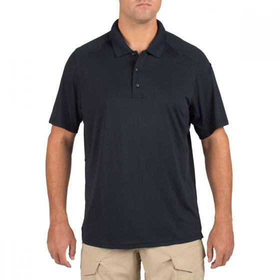 Koszulka Polo 5.11 Helios Krótki Rękaw Dark Navy