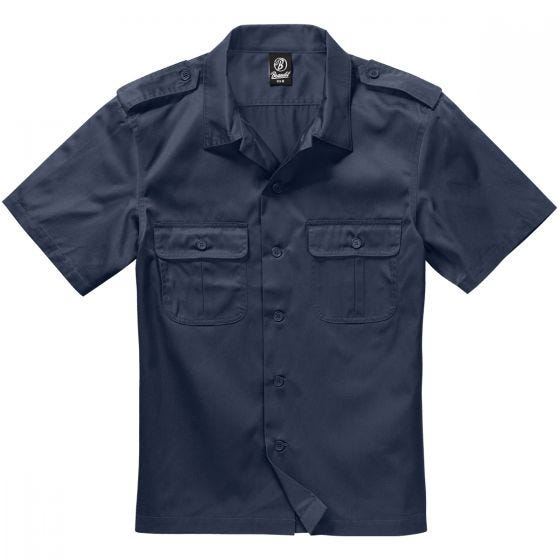 Koszula Brandit US Krótki Rękaw Navy