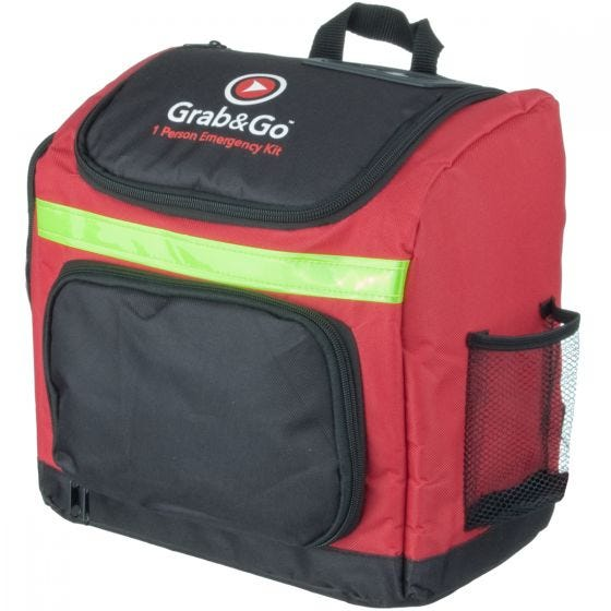 Torba Medyczna z Wyposażeniem Grab&Go Emergency Kit 1 Person