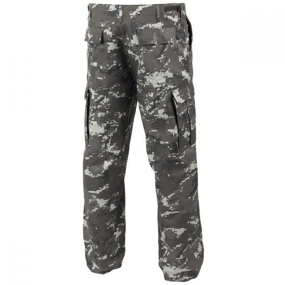 Spodnie Mil-Tec BDU Ranger Digital Black