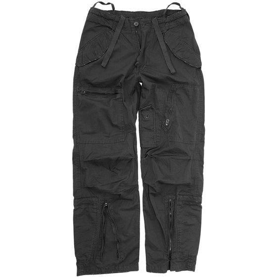 Spodnie Mil-Tec Pilot Poplin Czarne