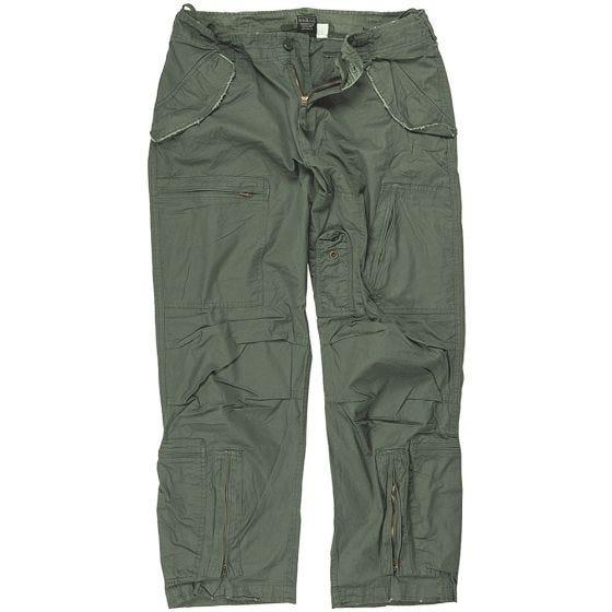 Spodnie Mil-Tec Pilot Poplin Oliwkowe