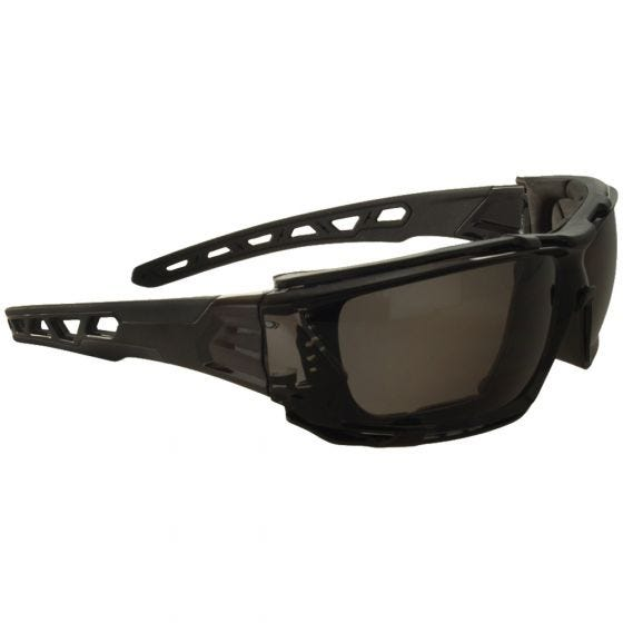 Okulary Taktyczne Swiss Eye Net - Smoke - Czarne