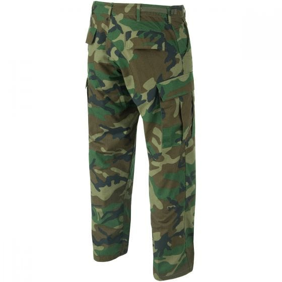 Spodnie Teesar BDU Ripstop Woodland
