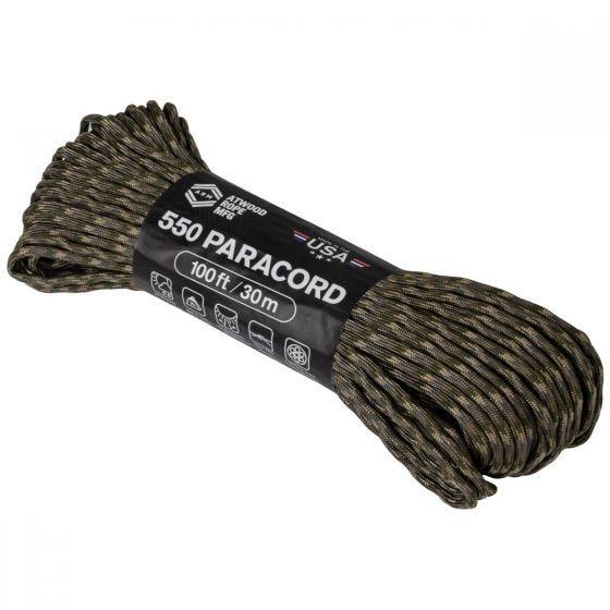 Linka Atwood Rope 100ft 550 MultiCam