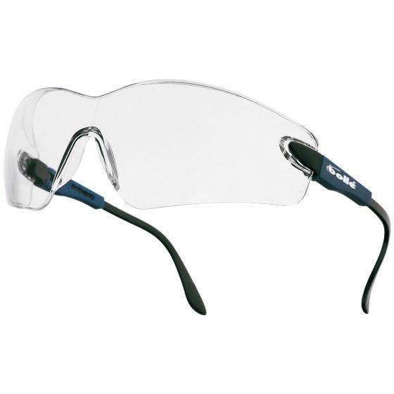 Okulary Taktyczne Bolle Viper II - Clear - Electric Blue