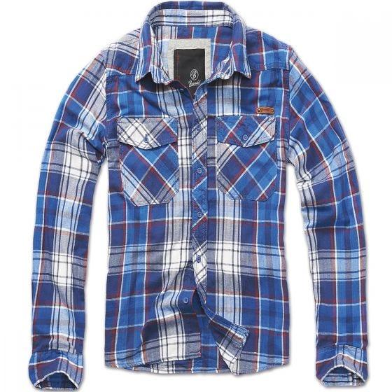 Koszula Brandit Check Niebieska