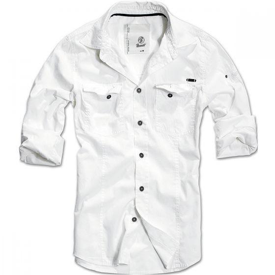 Koszula Brandit SlimFit Biała