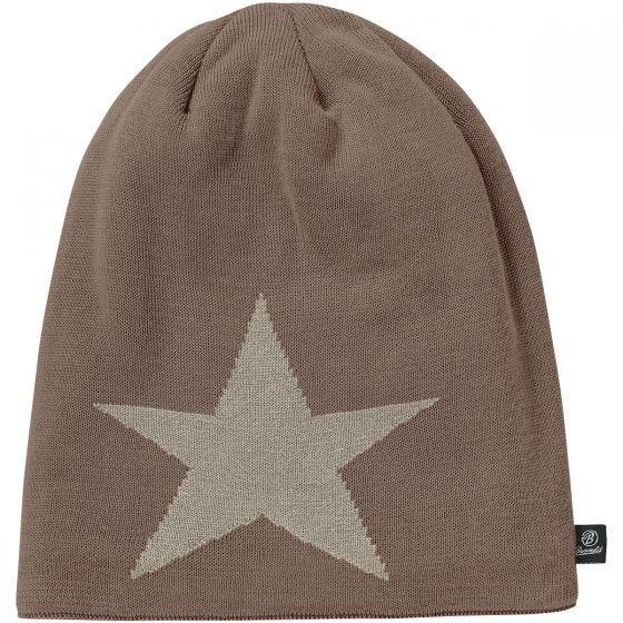 Czapka Brandit Beanie Star Taupe