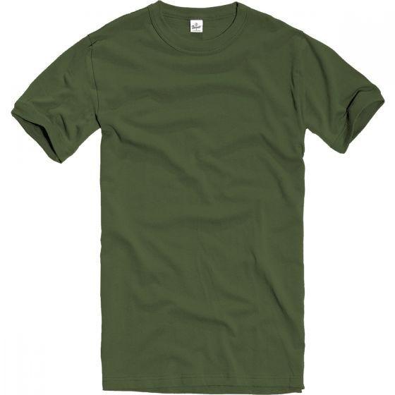 Koszulka T-shirt Brandit BW Oliwkowa