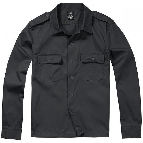 Koszula Brandit US Długi Rękaw Czarna