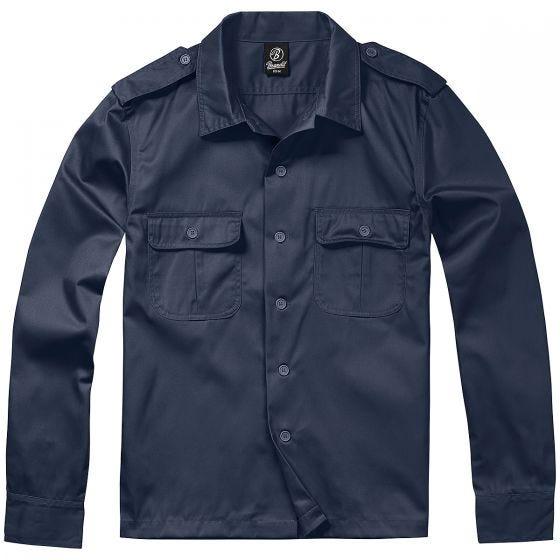 Koszula Brandit US Długi Rękaw Navy