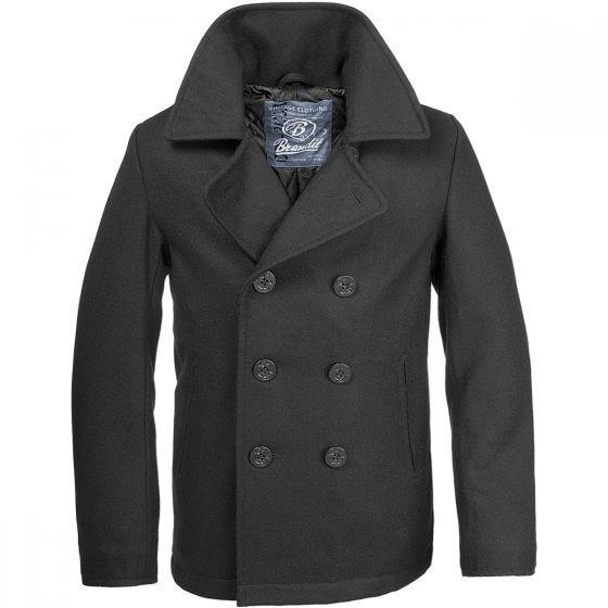 Płaszcz Brandit Pea Coat Czarny