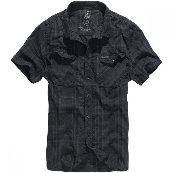 Koszula Brandit Roadstar Czarno-Niebieska