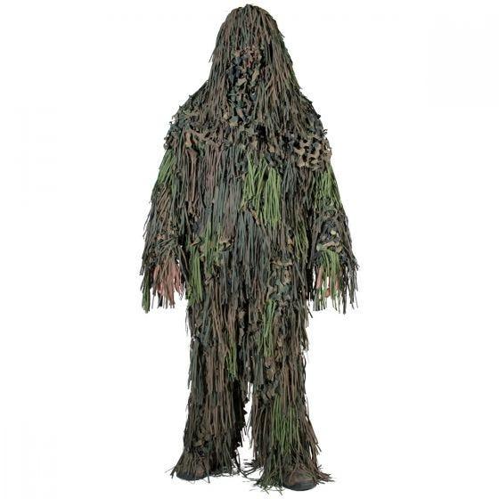 Strój Maskujący Camosystems Ghillie Suit Jackal Woodland