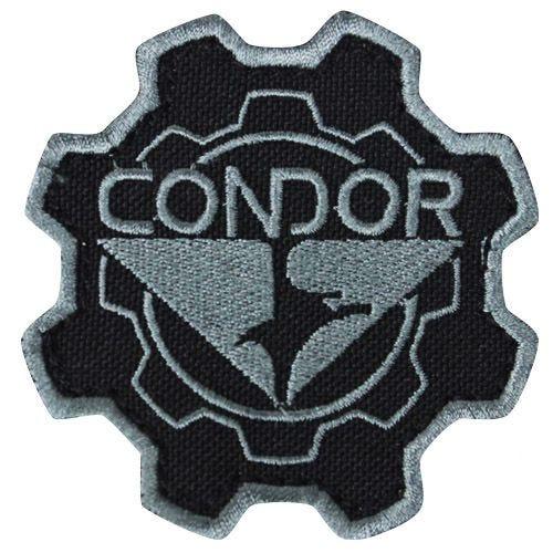 Naszywka Condor Gear Patch Czarna