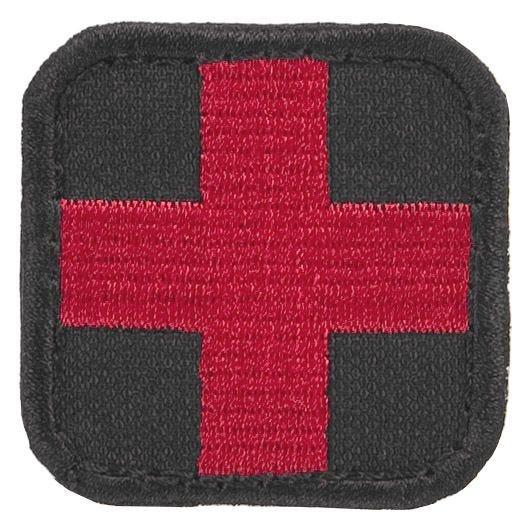 Naszywka Condor Medic Patch Czarno-Czerwona