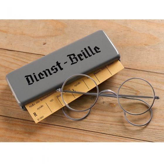 Okulary Mil-Tec BW Dienst-Brille z Metalowym Etui