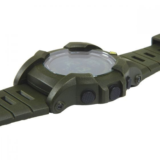 Zegarek First Tactical Canyon Digital Compass OD Green