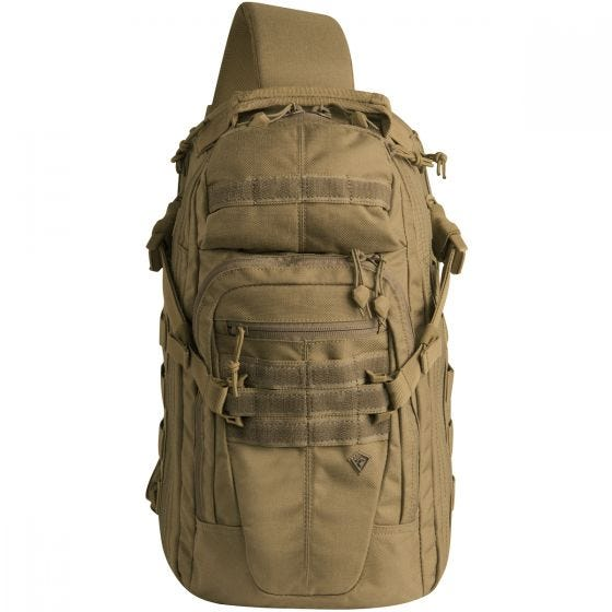 Plecak na Ramię First Tactical Crosshatch Sling Pack Coyote
