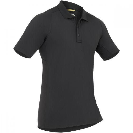 Koszulka Polo First Tactical Performance Krótki Rękaw Czarna