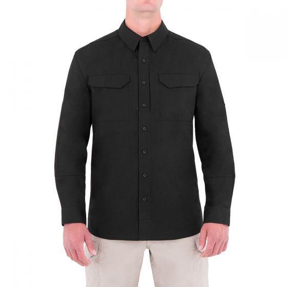 Koszula First Tactical Specialist Tactical Długi Rękaw Black