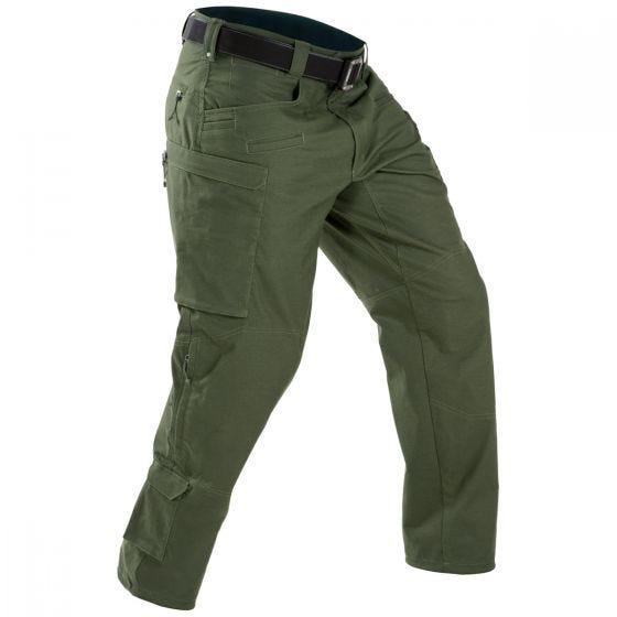 Spodnie Męskie First Tactical Defender OD Green