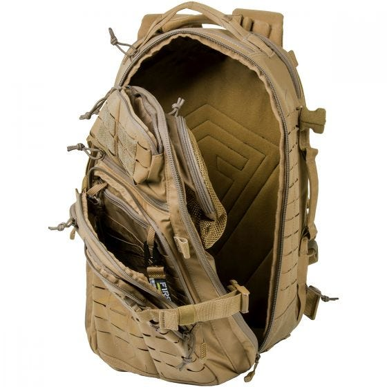 Plecak First Tactical Tactix Half-Day Coyote