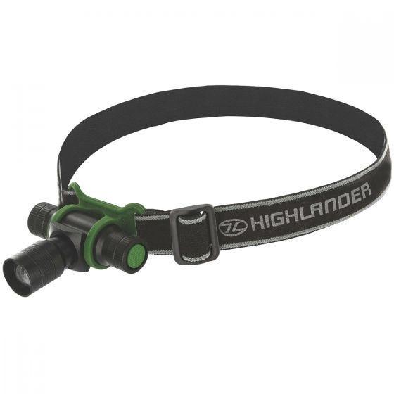 Latarka Czołowa Highlander Focus 3W LED Czarna