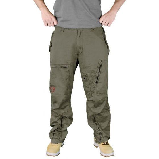 Spodnie Surplus Infantry Cargo Oliwkowe