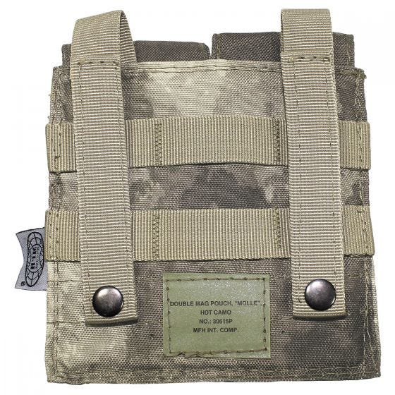 Ładownica Podwójna MFH na Magazynki M4/M16 MOLLE HDT Camo AU