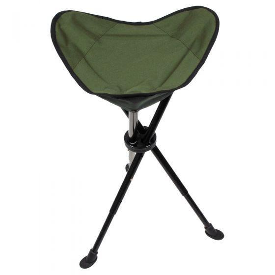 Krzesełko Turystyczne MFH Teleskopowe Składane z Pokrowcem
