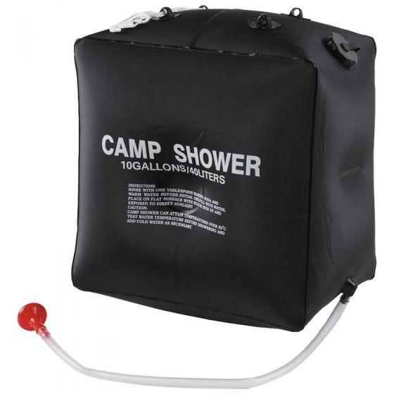 Prysznic Turystyczny MFH Solar 40L Czarny