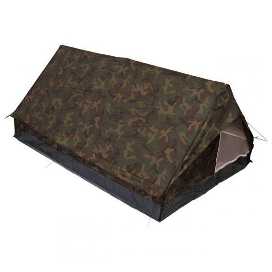 Namiot 2-osobowy MFH Minipack z Moskitierą Woodland