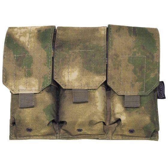 Ładownica Potrójna MFH na Magazynki M4/M16 MOLLE HDT Camo FG