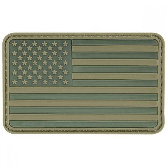Naszywka MFH USA 3D Flaga Oliwkowa