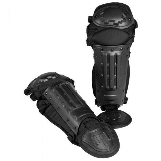 Ochraniacze Przeciwuderzeniowe na Nogi Mil-Tec Anti-Riot Czarne