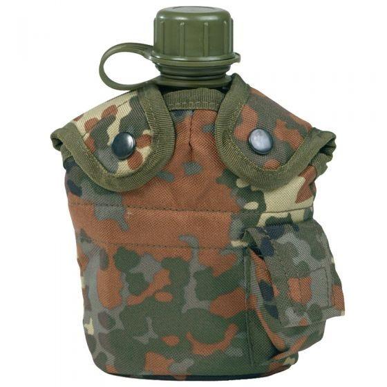 Manierka Mil-Tec US Army z Kubkiem Flecktarn