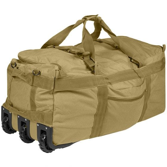 Torba Transportowa Mil-Tec Combat z Kółkami Coyote